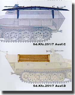 Pioneer Assaut Bridges For SD. KFZ 251/7 AUSF. C/D
