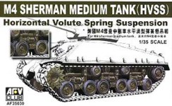 1/35 M4A3E8 HVSS Wheels & Suspension