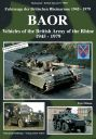BAOR - Vehicles of the British Army of the Rhine 1945-1979